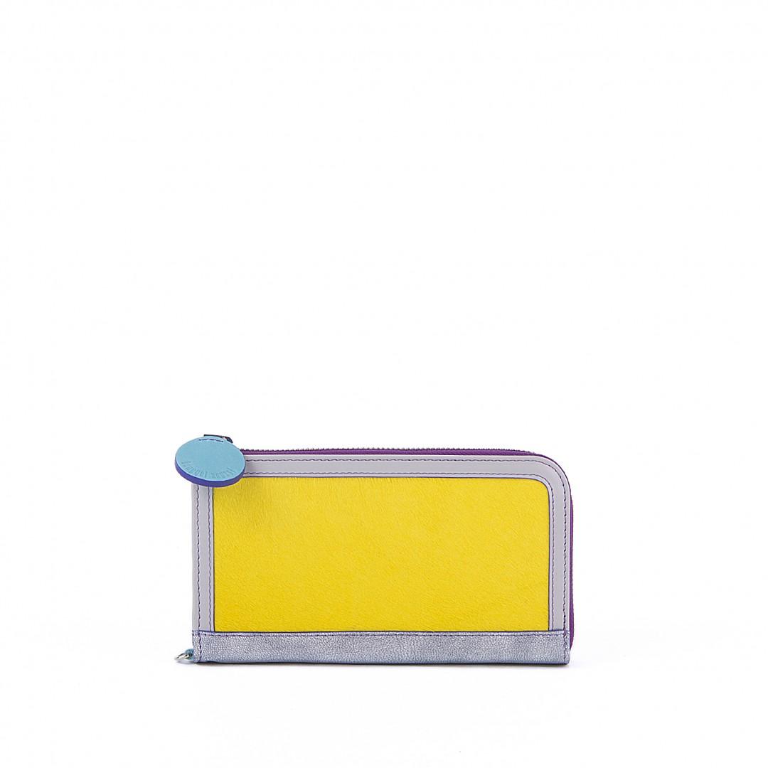 Ezüst-sárga szőr pénztárca – Lengyel Zsuzsi 23bded68ed